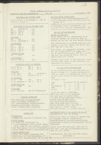 Bulletins (vnl. opstellingen) 1952-10-14