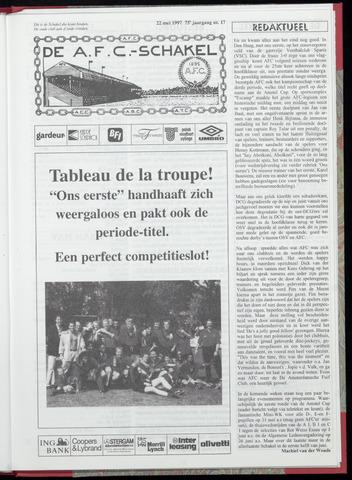 Schakels (clubbladen) 1997-05-22