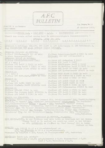 Bulletins (vnl. opstellingen) 1973-10-24