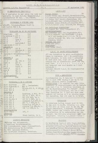 Bulletins (vnl. opstellingen) 1960-09-27