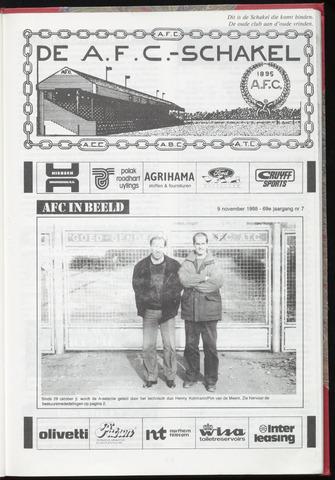 Schakels (clubbladen) 1988-11-09
