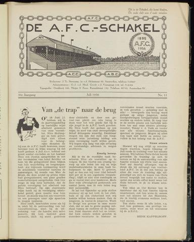 Schakels (clubbladen) 1956-07-01