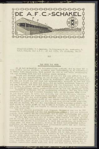 Schakels (clubbladen) 1939-05-25