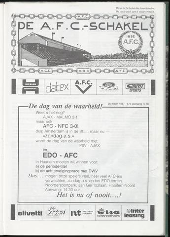 Schakels (clubbladen) 1987-03-25
