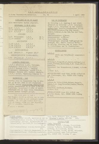 Bulletins (vnl. opstellingen) 1952-04-01