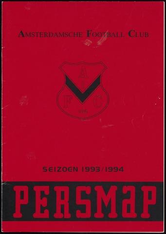Persmappen 1993