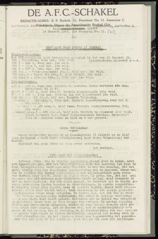 Schakels (clubbladen) 1943-01-14