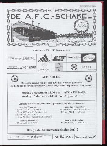 Schakels (clubbladen) 2002-12-04