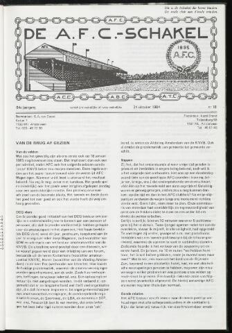 Schakels (clubbladen) 1984-10-24