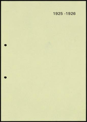 Jaarverslagen 1926-06-01
