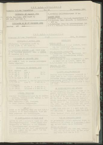Bulletins (vnl. opstellingen) 1953-12-22