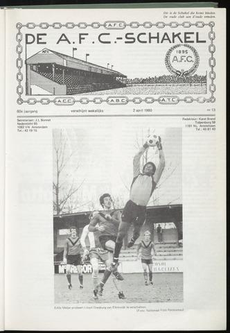 Schakels (clubbladen) 1980-04-02