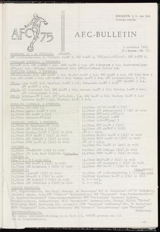 Bulletins (vnl. opstellingen) 1969-11-05