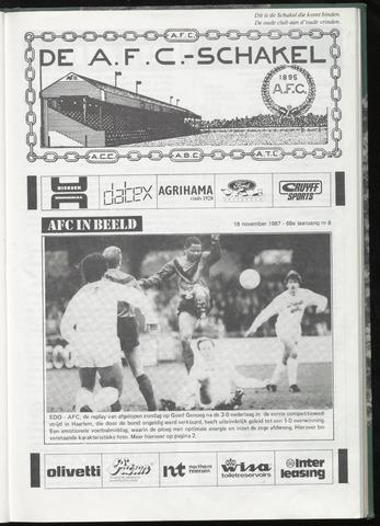 Schakels (clubbladen) 1987-11-18