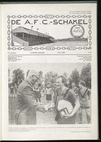 Schakels (clubbladen) 1981-06-03