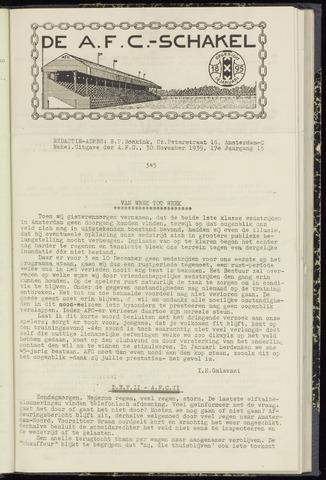 Schakels (clubbladen) 1939-11-30
