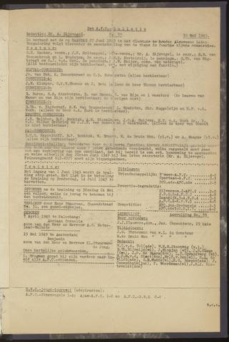 Bulletins (vnl. opstellingen) 1949-05-30