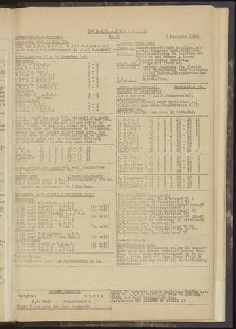 Bulletins (vnl. opstellingen) 1948-12-02