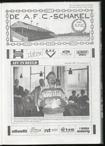 Schakels (clubbladen) 1987-01-28