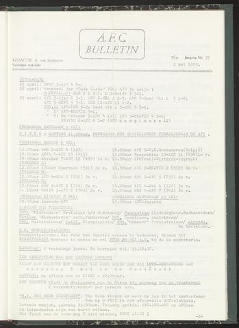 Bulletins (vnl. opstellingen) 1973-05-02
