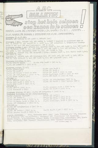 Bulletins (vnl. opstellingen) 1966-05-11