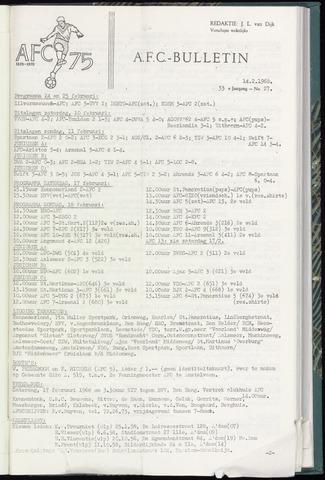 Bulletins (vnl. opstellingen) 1968-02-14