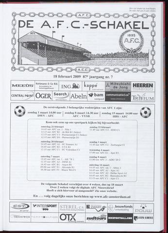Schakels (clubbladen) 2009-02-18