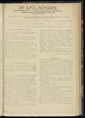 Schakels (clubbladen) 1944-08-03