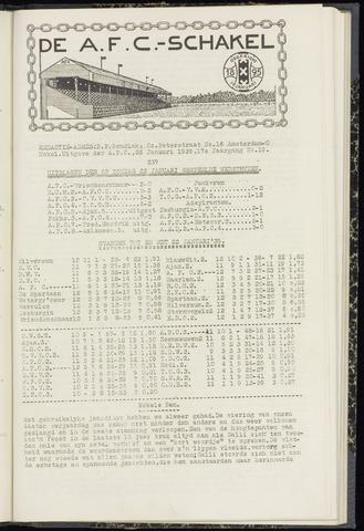 Schakels (clubbladen) 1939-01-26