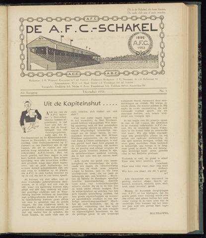 Schakels (clubbladen) 1953-12-01