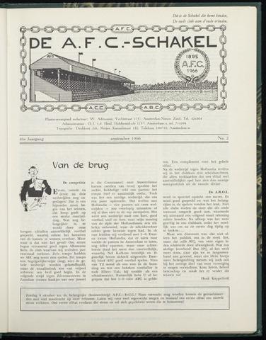 Schakels (clubbladen) 1966-09-01