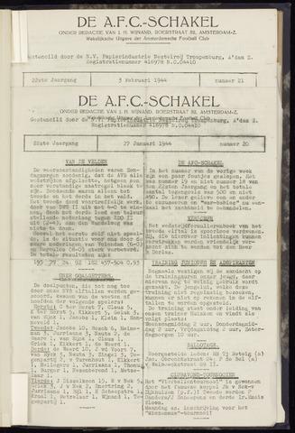 Schakels (clubbladen) 1944-01-27