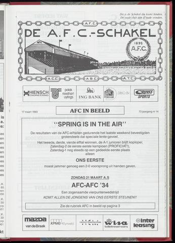 Schakels (clubbladen) 1993-03-17