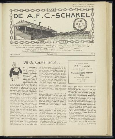 Schakels (clubbladen) 1951