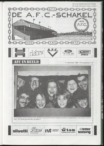 Schakels (clubbladen) 1986-12-17