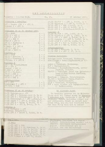 Bulletins (vnl. opstellingen) 1962-10-17