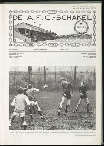 Schakels (clubbladen) 1981-04-08
