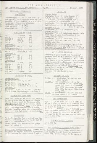 Bulletins (vnl. opstellingen) 1960-03-29