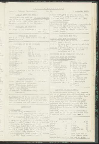 Bulletins (vnl. opstellingen) 1955-12-13