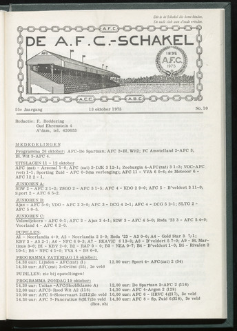 Schakels (clubbladen) 1975-10-07