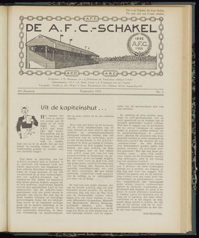 Schakels (clubbladen) 1955-09-01