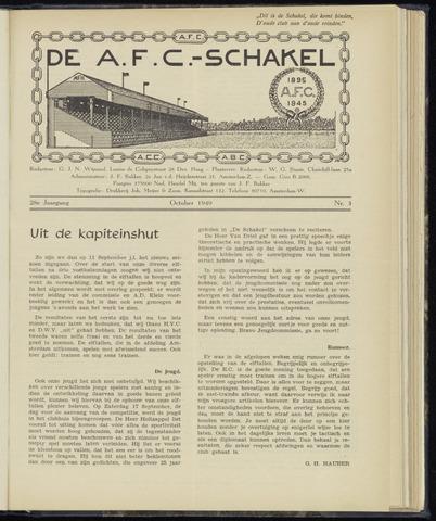 Schakels (clubbladen) 1949-10-01