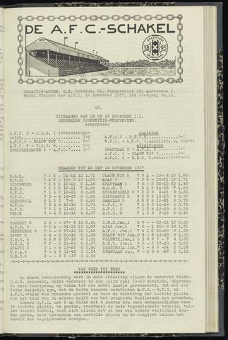 Schakels (clubbladen) 1937-11-18