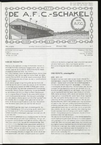 Schakels (clubbladen) 1984-03-28