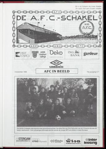 Schakels (clubbladen) 1993-11-03