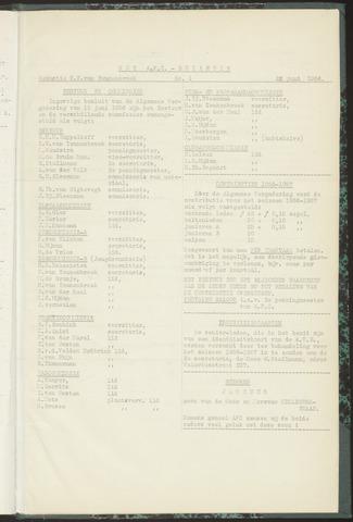 Bulletins (vnl. opstellingen) 1956-06-22