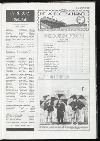 Schakels (clubbladen) 1986-04-09