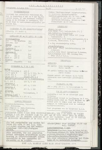 Bulletins (vnl. opstellingen) 1961-05-03