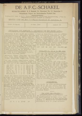 Schakels (clubbladen) 1944-05-25