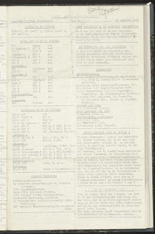 Bulletins (vnl. opstellingen) 1957-10-15